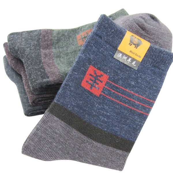 10pairs Mens Socks Factory Price Warm Wool Practical Durable Male Sock Mature Temperament Man Style Good Quality Socks Meias Sox