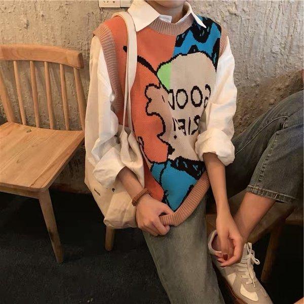 Оранжевый жилет + рубашка