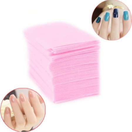 Lint-Free Wipes Napkins Manicure Remove Nails Varnish Cotton Pads Nail Art Tools Lint free Nail Gel Polish Removal Wraps