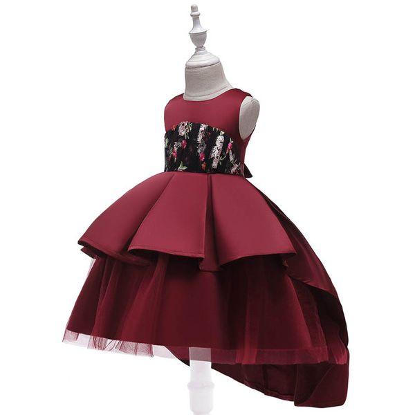 Birthday Party girl dresses for wedding kids designer clothes girls princess dress fashion girl dress Formal Dresses kids dresses A6465