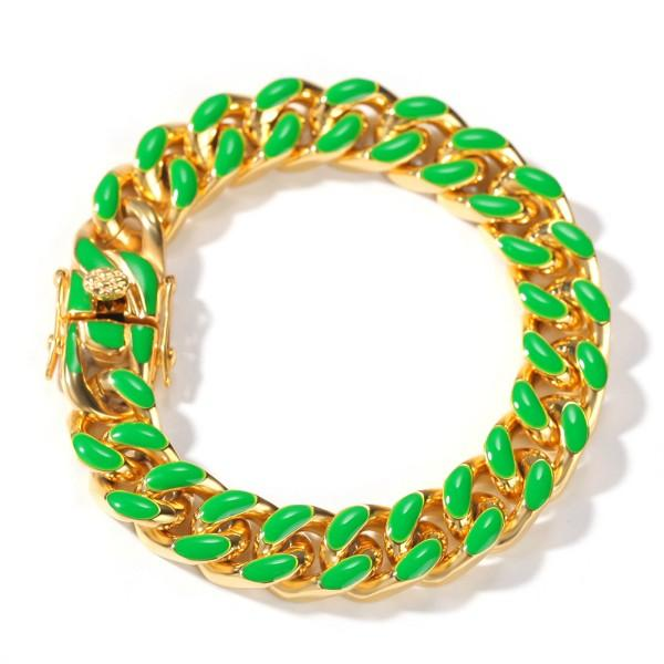 Gold Green 8inch