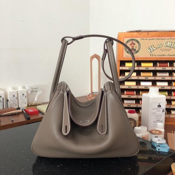 The Best Quality Ladies Luxury Fashion Shoulder Bag 100% Leather Brand Famous Ladies Shoulder Bag Free Shipping All Handmade