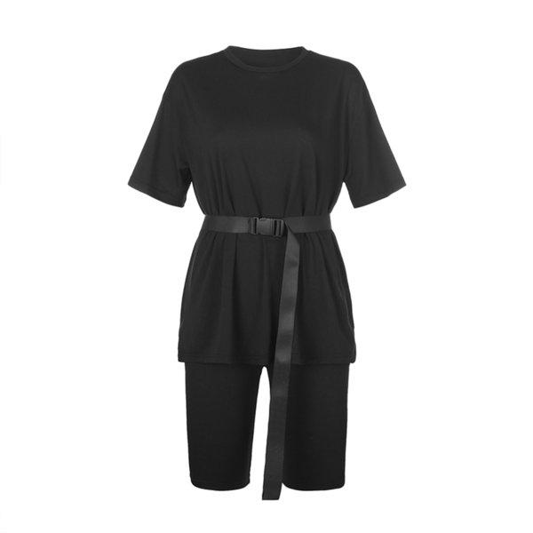 Black Set With Belt