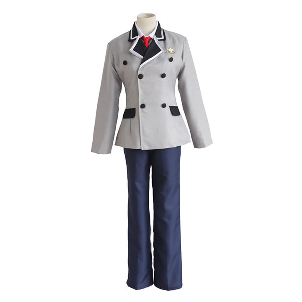 Shimoneta to Iu Gainen ga Sonzai Shinai Taikutsu na Sekai SOX Cosplay Kajou Tanukichi Okuma School Uniforms (Blazer+Pants+Tie)