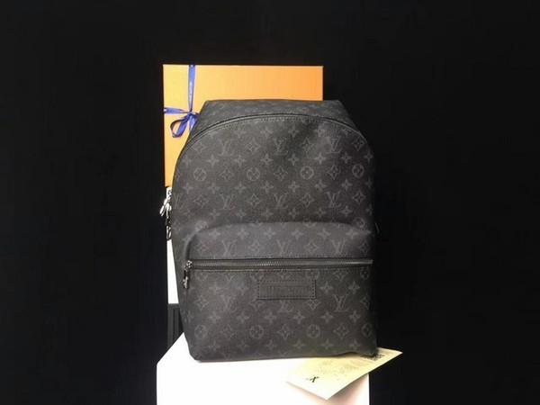 2019 bolsas de hombro M44200 Nueva lona Hombres Mujeres Moda Negro Mochilas Maletas bolsos bolsa de cinturón