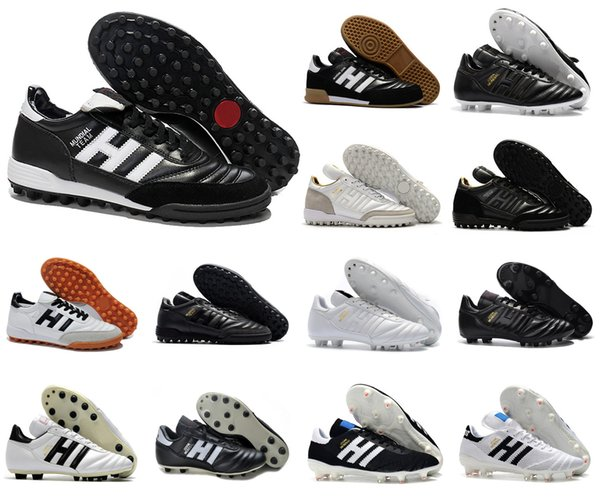 top popular Classics Mens Mundial Team Astro Modern Craft TF GOAL INDOOR IN Copa Mundial Copa 70Y FG Soccer Football Shoes Boots Cleats Size 39-45 2020