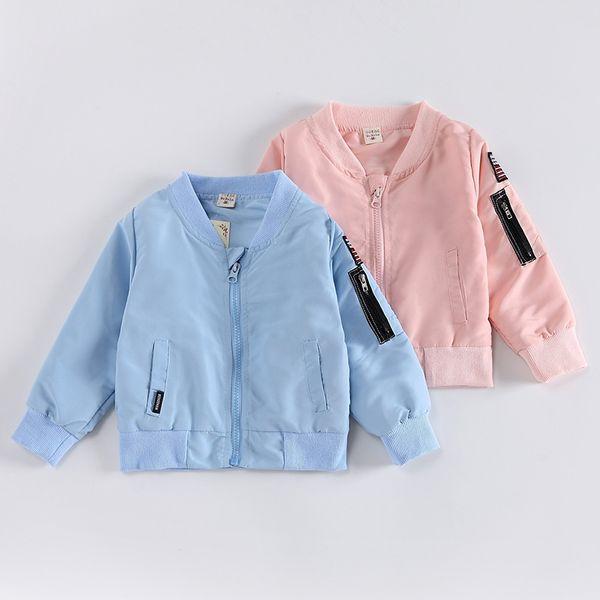 Baby boy Clothes Brand Cartoon Pattern Girls Jackets Coats Toddler Kids Jacket Outwear Baseball Windproof Children Clothes New