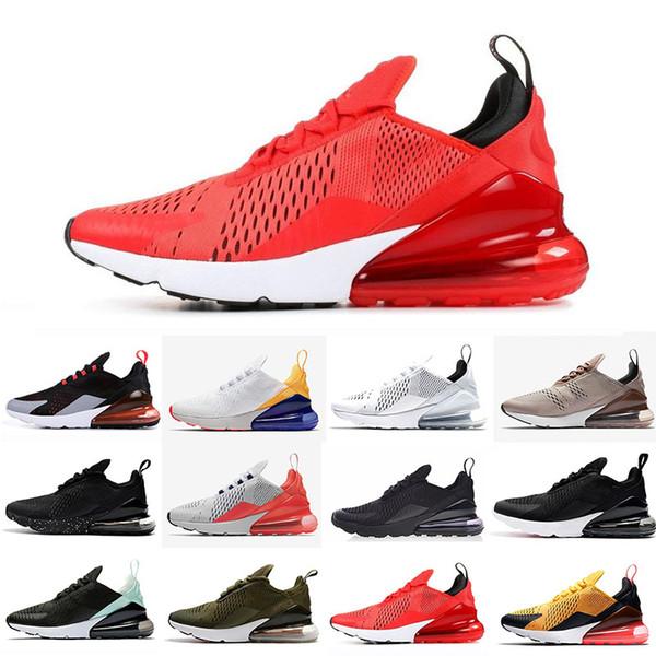 Compre Nike Air Max 270 27C Zapatillas De Deporte Flair GS Tiger Cactus Blancas, Negras, Negras Y Negras, Nuevas Zapatillas De Deporte Para Hombre Y