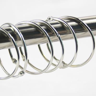 Clip per tende Nuovo metallo di alta qualità Asta per tende per tende Anello per morsetto per tende Clip per gancio per tende EEA220