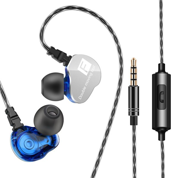 2 St/ück In Ear Ohrh/örer In Ear Kopfh/örer Headphone Kabelgebundene Kopfh/örer 3.5mm Audio In Ear Headsets mit Mikrofon f/ür Smartphone und MP3 Players(Schwarz und Wei/ß)