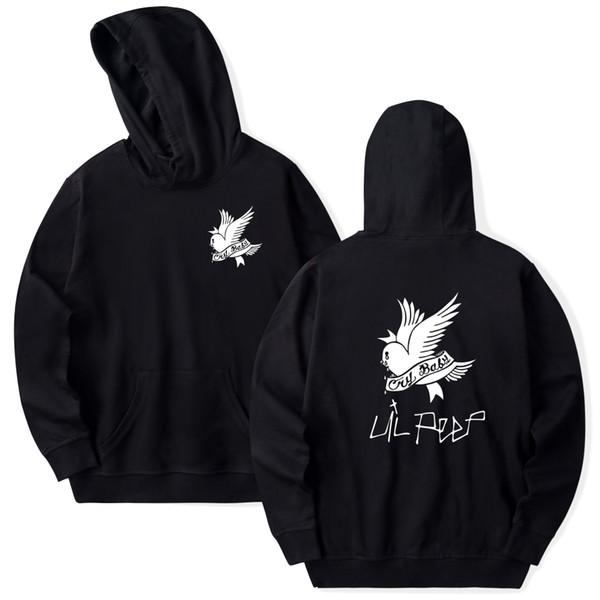 Lil Peep Hoodies Love lil.peep мужчины / женщины Толстовки пуловеры с капюшоном мужские / женские sudaderas cry baby hood hoddie КофтыMX190903