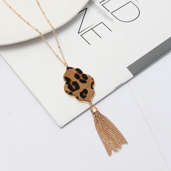 Ожерелье-Leopard
