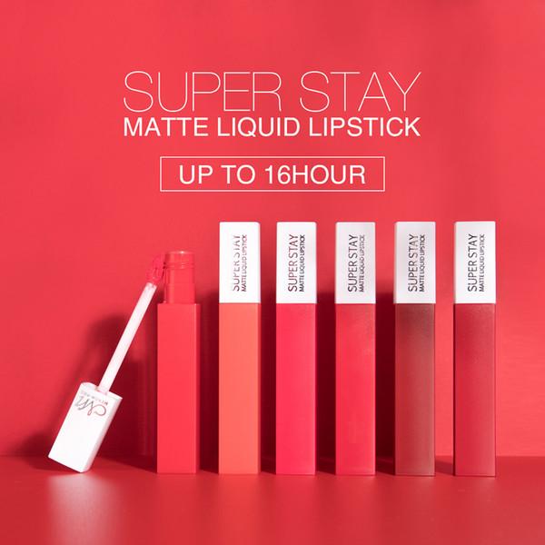 100 UNIDS MENOW 12 colores Cosméticos Maquillaje Brillo de labios Duradero Resistente al agua Fácil de usar Lápiz labial mate Lápiz labial Envío gratis