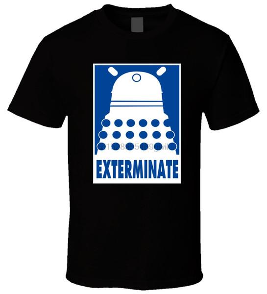 - Dalek 1 Männer-T-Shirt ausrotten