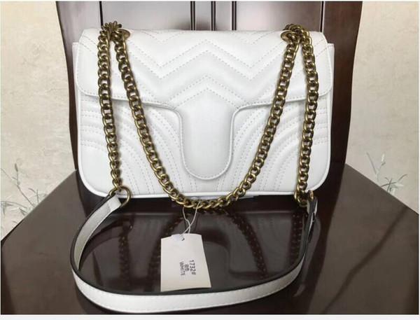 White/gold chain