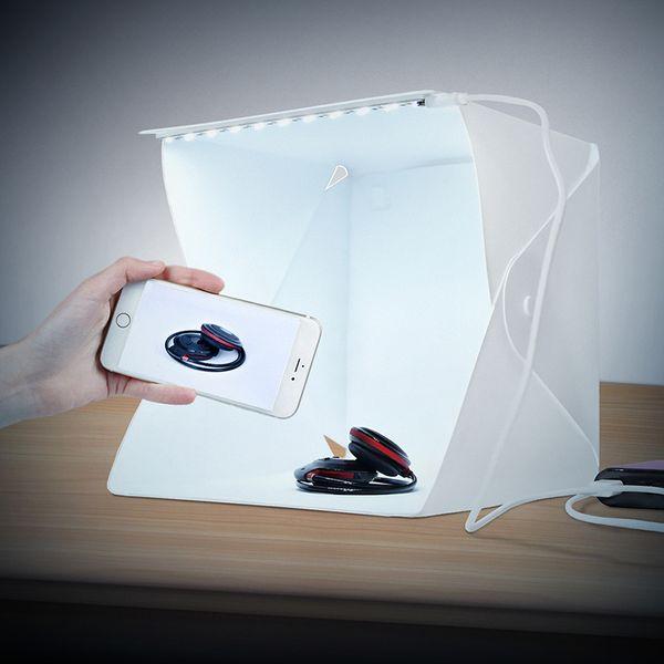 Cadiso Portable LED-Licht Folding Studio Diffuse Softbox 24cm 9