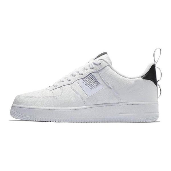 2019 Hombres 1 Utility Classic Black White Women Casual Shoes red one Skateboarding High Low Cut Wheat trainers Zapatillas deportivas tamaño 36-45 z005