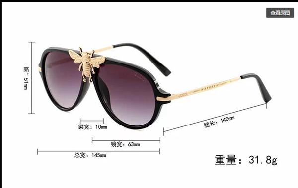 1pcs designer brand new classic pilot sunglasses fashion women sun glasses vassl uv400 matte gold frame green mirror 58mm lens