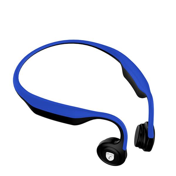 Los auriculares portátiles de encargo del deporte de la conducción de hueso de la fábrica al por mayor ataron con alambre el auricular, auriculares abiertos de la cancelación de ruido de la conducción de hueso