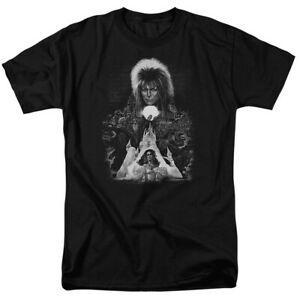 Labyrinth Castle Jareth 25 Years Magic Fashion New Licensed Adult T Shirt