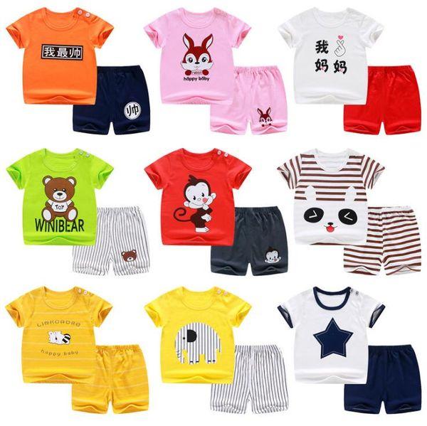 Brand Abbigliamento Per Bambini.Acquista Marchio Di Marca Designer Di Lusso Abbigliamento Bambini Abbigliamento Estivo Bambini Stampa Ragazzi Abiti T Shirt Moda Bambini Bambini