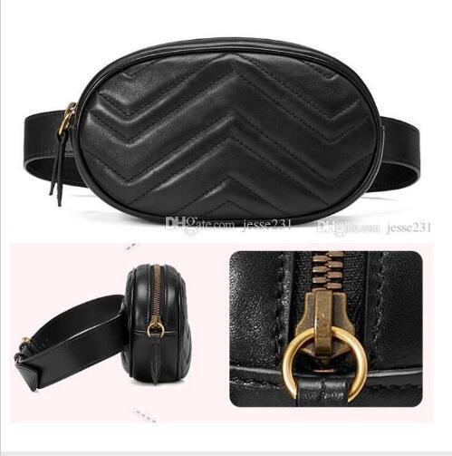 best selling Wholesale 20New Fashion Pu Leather Brand Handbags Women Bags Designer Fanny Packs Famous Waist Bags Handbag Lady Belt Chest bag black colors