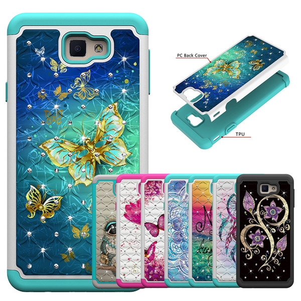 Hybrid Bling Back Case For Samsung Note 9 Diamond Sparkle Shining Glitter Cover Defender for Samsung Note 9 Dual Layer 02