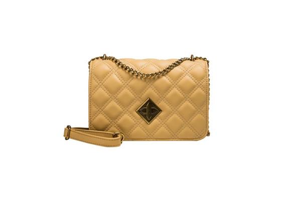 Usine épaule gros concepteur de haute qualité sac femmes chaîne de luxe célèbre chèque directement en cuir Messenger sac PU petit sac carré 4 c