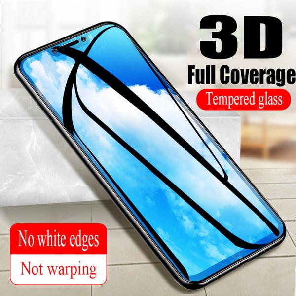 Verre 3D pour Huawei Nova 3 Verre de protection sur le protecteur d'écran pour téléphone incurvé complet pour Nova 3i Huawei 3e