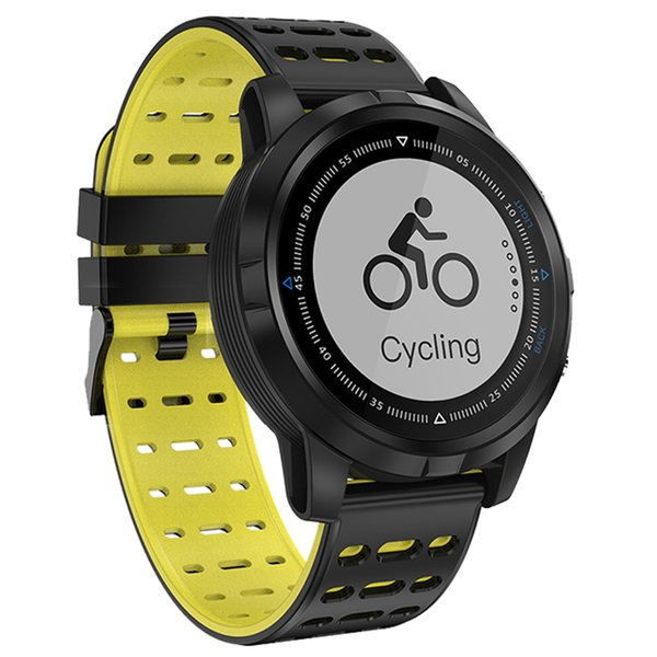 GPS Smart Watch IP68 Waterproof Smartwatch Dynamic Heart Rate Monitor Men Sport Wristwatch Mens Smart Watches for iPhone Android