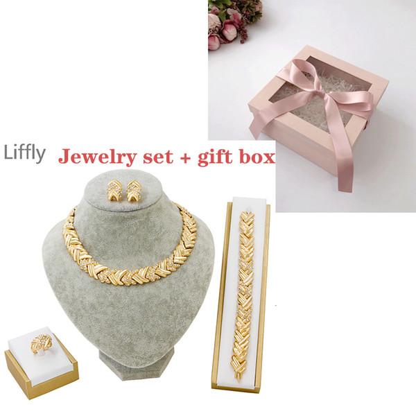 Conjuntos de jóias e caixa-42c m-9-White