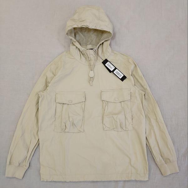19SS 639F2 GHOST PIECE SMOCK / ANORAK Baumwolle Nylon TELA Pullover Jacke Männer Frauen Mäntel Mode Oberbekleidung HFLSJK349