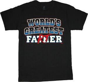 big and tall t-shirt for men funny fathers day gift idea worlds greatest farter