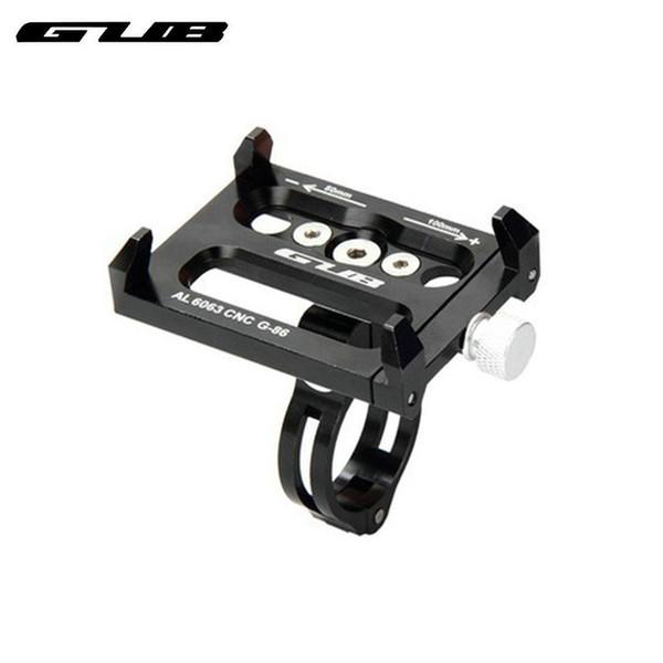 GUB G-86 alliage d'aluminium titulaire de téléphone VTT route vélo support de téléphone support de navigation gps étanche pour 5-6 pouces cas # 122250