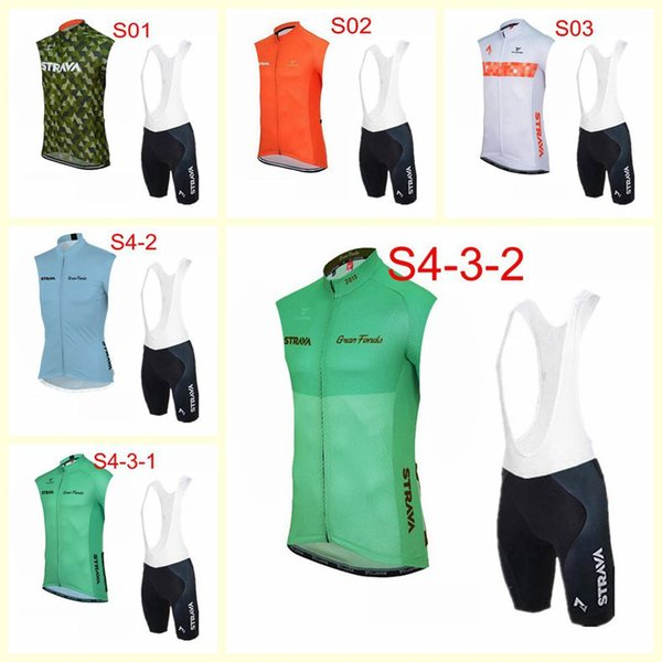Strava équipe cyclisme maillot manches courtes Veste jeux sports de plein air respirant sport masculin usure confortable de U120622 de