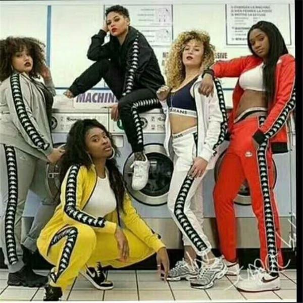 Kadınlar İki Adet Set Kıyafetler spor Eşofman uzun kollu Koşu Spor kapşonlu tozluk kazak gece giyim kadınlar clothing2043 Suits