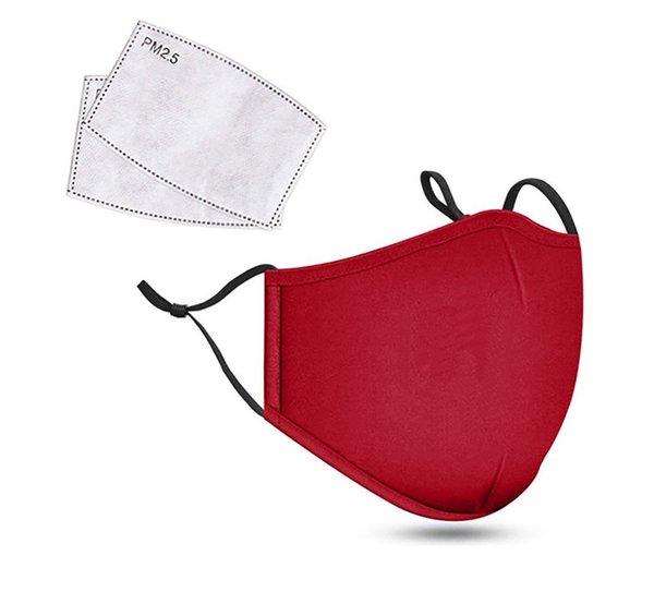 Rojo sin filtros Breath válvula + 2pcs