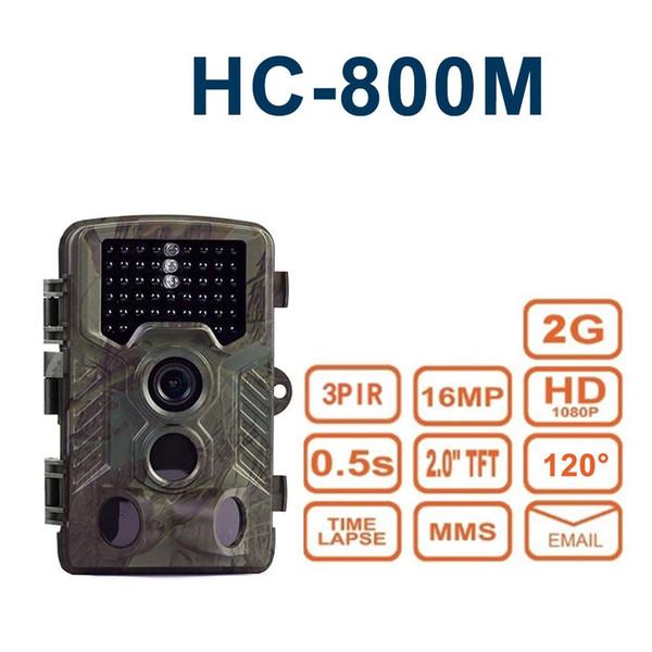 HC-800M 2G Caça Câmera MMS SMS HC800M Sem Fio Selvagem Caça Ao Ar Livre Vida Selvagem Armadilhas Night Action Camera