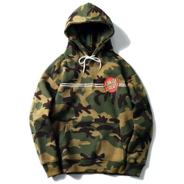 tide brand star hoodies youth hipster surfing skateboard santa cruz camouflage hoodies fashion design street hip hop jackets