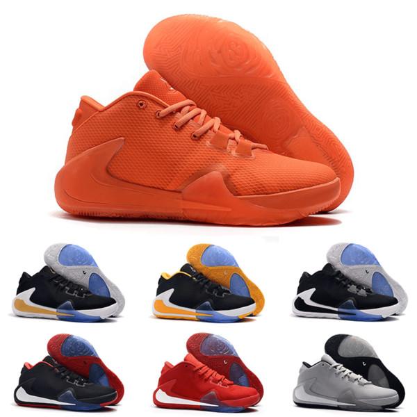 2019 Yeni Varış Erkek Freak 1 Giannis Antetokounmpo 1 s Ucuz Atletik Zoom GA1 Için Basketbol Ayakkabı Lüks Sneakers Hızlı Kargo Size40-46