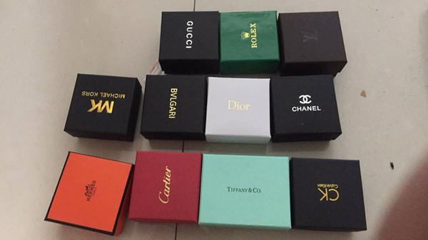 Deluxe Brand Ювелирные изделия подарочные коробки сумки с губкой Для сережек браслеты