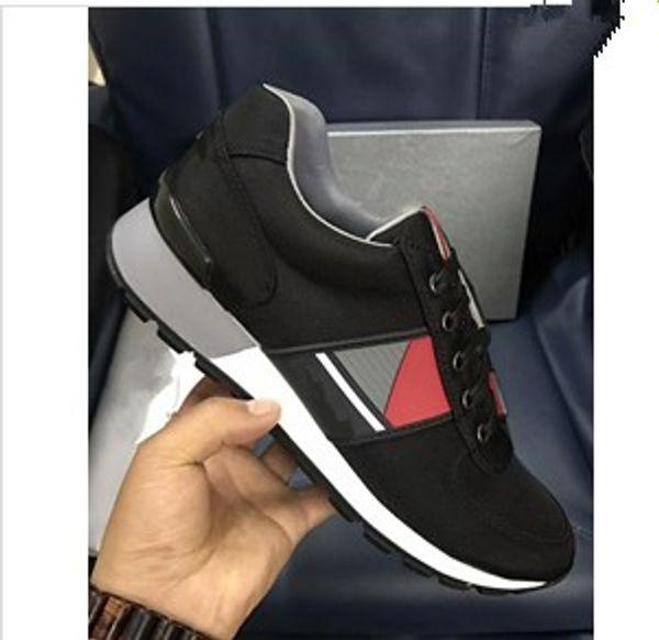 Nouvelle marque décontractée chaussures pour hommes en Europe et aux États-Unis style haut de gamme noir vent britannique chaussures de sport pour les jeunes tendance my889614