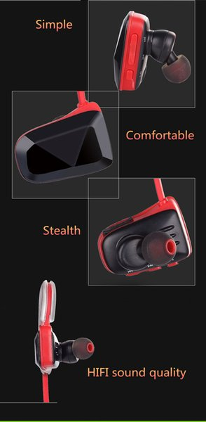 YCH-03 wireless bluetooth headphones in-ear sports headsets stereo bass earphones for iphone i7/8/9 plus IOS Andrion with retail