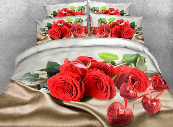 rose bedding set