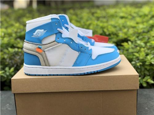 2019 New 1 Chicago red Men Women Basketball Shoes Powder Blue 1 UNC Chicago Basketball Outdoor Shoes
