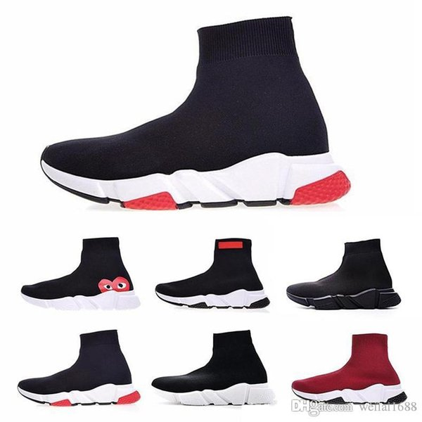 Zapatos de calcetines Zapatillas de deporte de alta calidad Speed Trainer Sock Race moda de lujo para hombre mujer diseñador sandalias zapatos