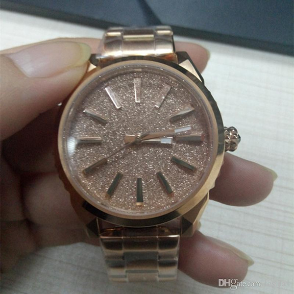 Stainless Steel Watches Rose Gold Sliver Fashion Casual Women Wrist Watches Luxury Brand Wholesale Ladies Dress Watches Women's Analog Clock