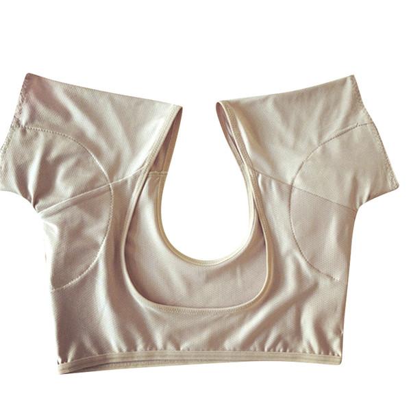 Hautfarbe Unterarm schweißabsorbierendes Polster-T-Shirt Kann gewaschen und wiederverwendet werden Unterarme, schweißabsorbierender Lauf-BH, ultradünn