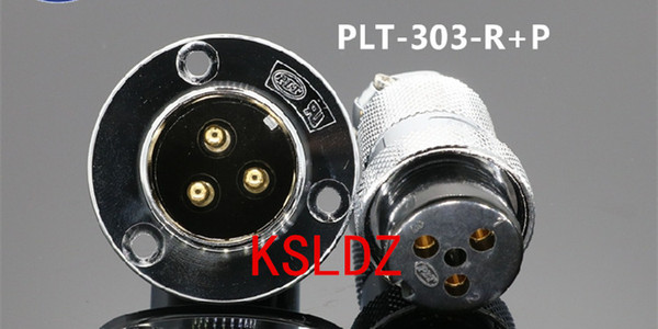 best selling Free shipping lot (1 pieces lot)original New PLT APEX PLT-303-R+P PLT-303-R-R PLT-303-P-R 3PINS Aviation Plug and Socket Connector