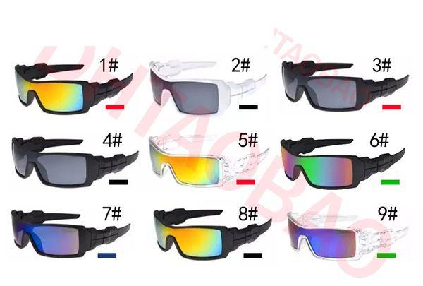 summer newest man fashion sport sunglasses cycling glasses woman riding glasses drving sunglasses Dazzle colour glasses free shipping